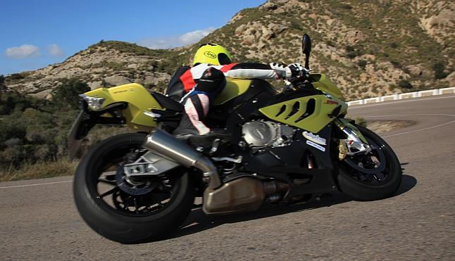 BMW S1000RR Test Landstrasse