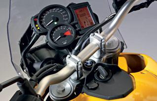 BMW F800GS Cockpit
