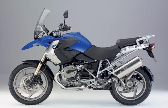 BMW R 1200GS 2008 blau