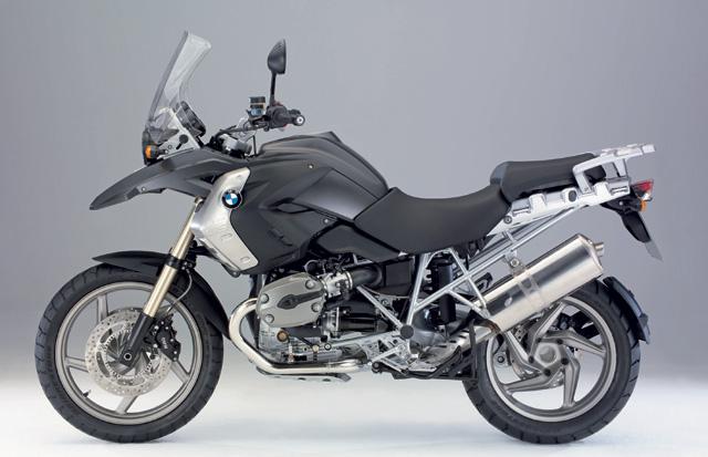 BMW R 1200GS 2008 grau