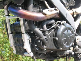 BMW G 650 Xmoto Motor