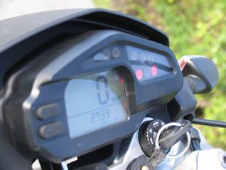 BMW G 650 Xmoto Instrumente
