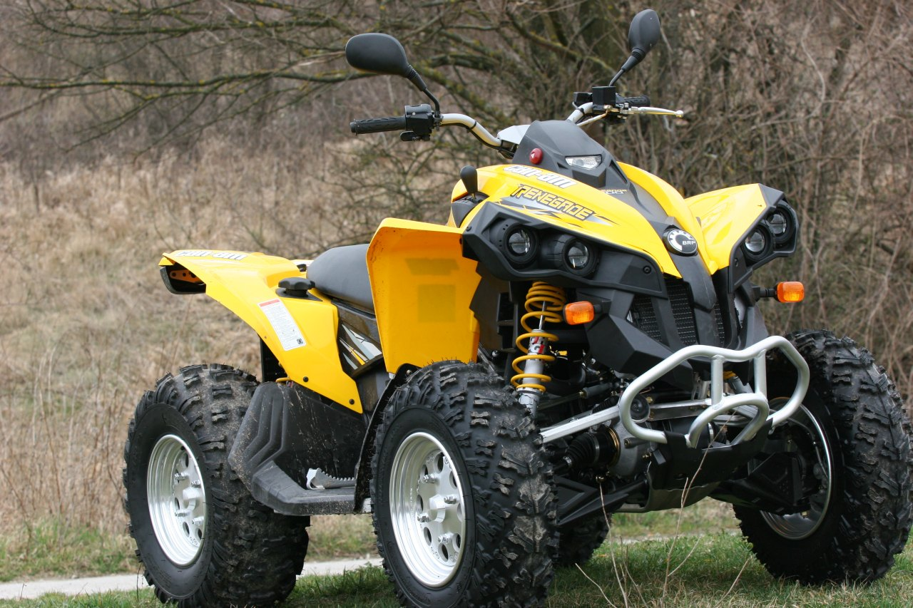 quad can am fiabilite