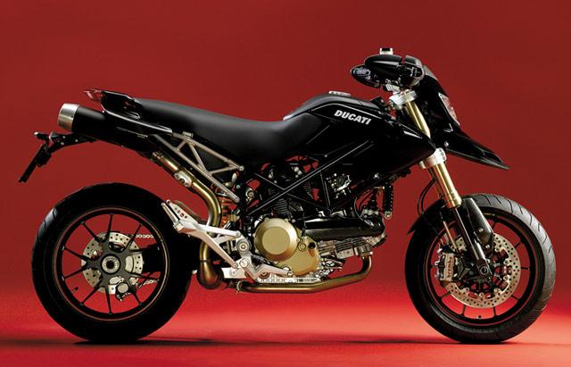 Ducati Hypermotard 1100 S black