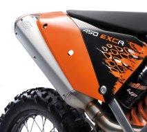 KTM EXC Heck 2008
