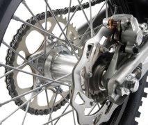 Felge mit gedrehter Nabe KTM EXC-R 2008