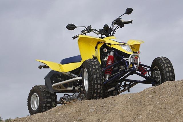 Suzuki LTR 450 - Testbericht