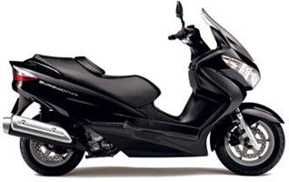 Suzuki Burgman 125 Pearl Nebular Black