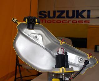 Suzuki RM-Z 450 Alutank