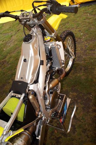 Suzuki RM-Z 450 Rahmen