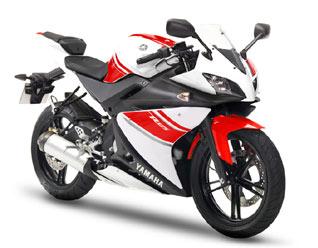 Yamaha YZF-R125 White