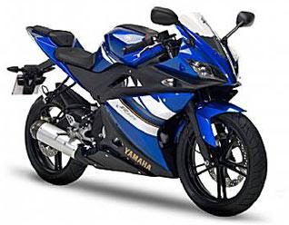 Yamaha YZF-R125 Blue