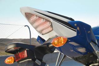 Yamaha YZF-R6 2008 Heck