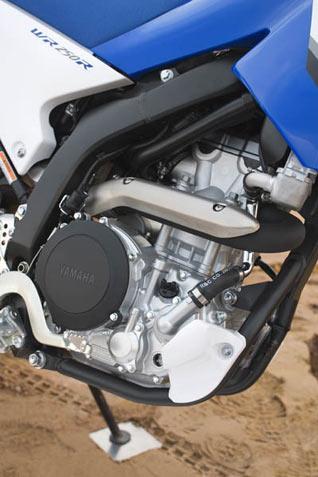 Yamaha WR250R Motor und Rahmen