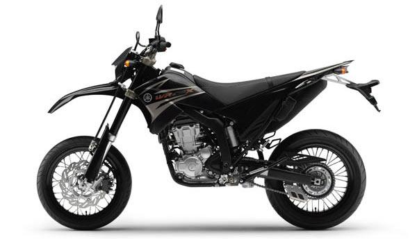 Yamaha WR250X Farbe Schwarz